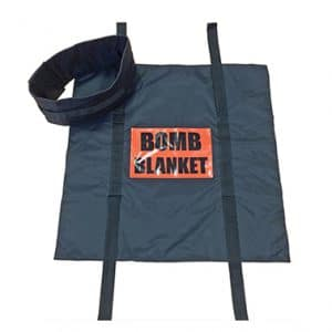 Blast suppression blanket