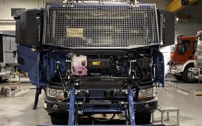 ARC installation on Polish vehicles