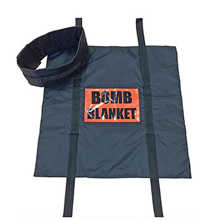 Blast suppression blanket