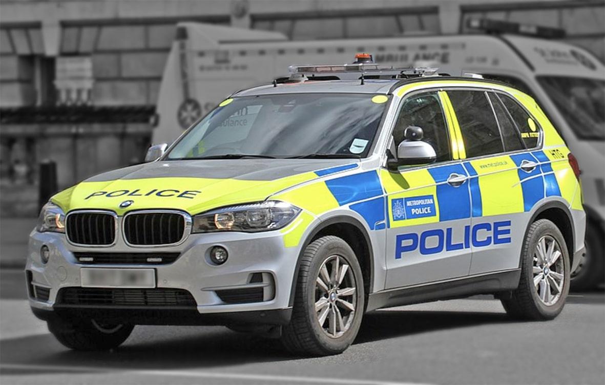 Police X5 underbelly armour