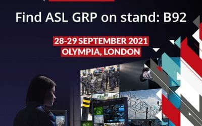 ASL GRP exhibiting at International Security Expo at Olympia